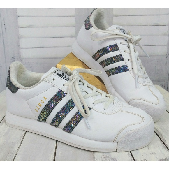 finest selection d36a2 5bff7 adidas Shoes   Samoa J Snake Iridescent   Poshmark